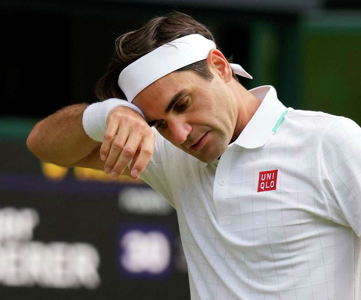 Roger Federer, 40, has 20 Grand Slam singles titles to share the men's record with Rafael Nadal and Novak Djokovic.