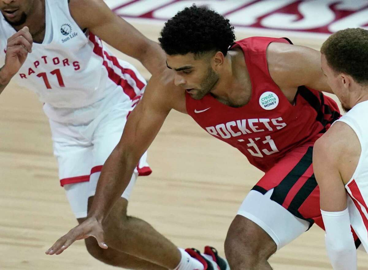 Anthony Lamb is hoping to get more than a two-way contract with the Rockets this season.