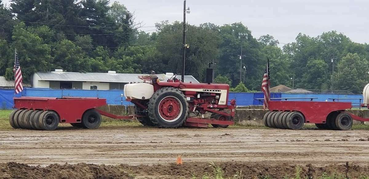File - The West Michigan Pullers were at the Eaton County Fair in Charlotte in July. The group will host a tractor pull event starting at 7 p.m. on Aug. 20 in the grand stands.