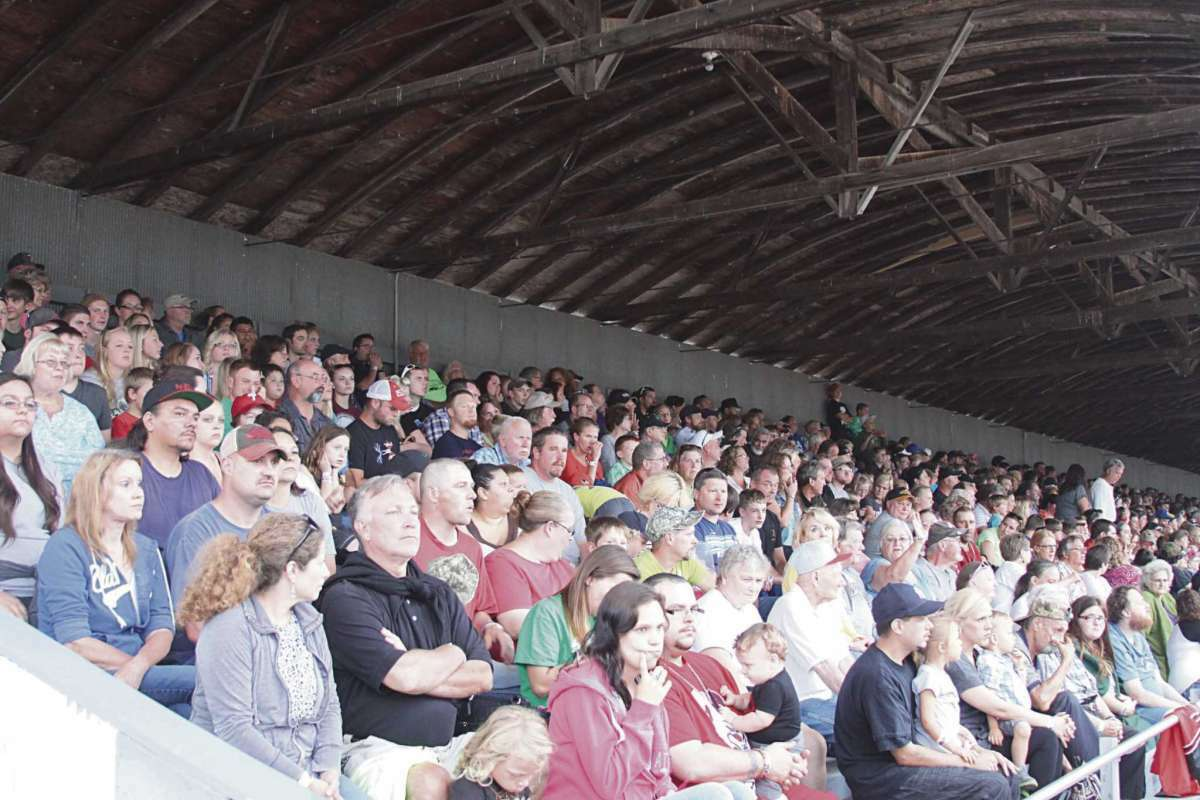 File - Grandstand events draw big crowds at the Manistee County Fair.