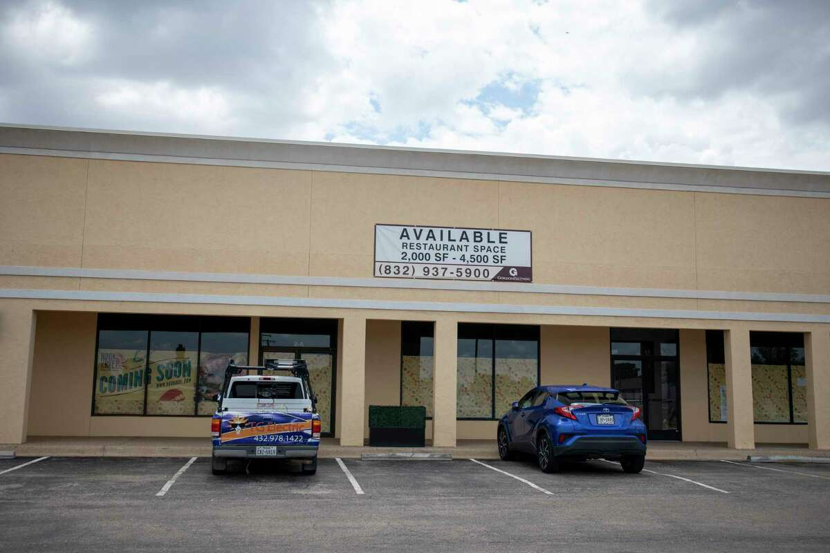 Construction for Midland???s first Hook and Reel restaurants has started as seen Monday, Aug. 16, 2021 at 2215 N. Midland Drive Suite 2A. Jacy Lewis/Reporter-Telegram