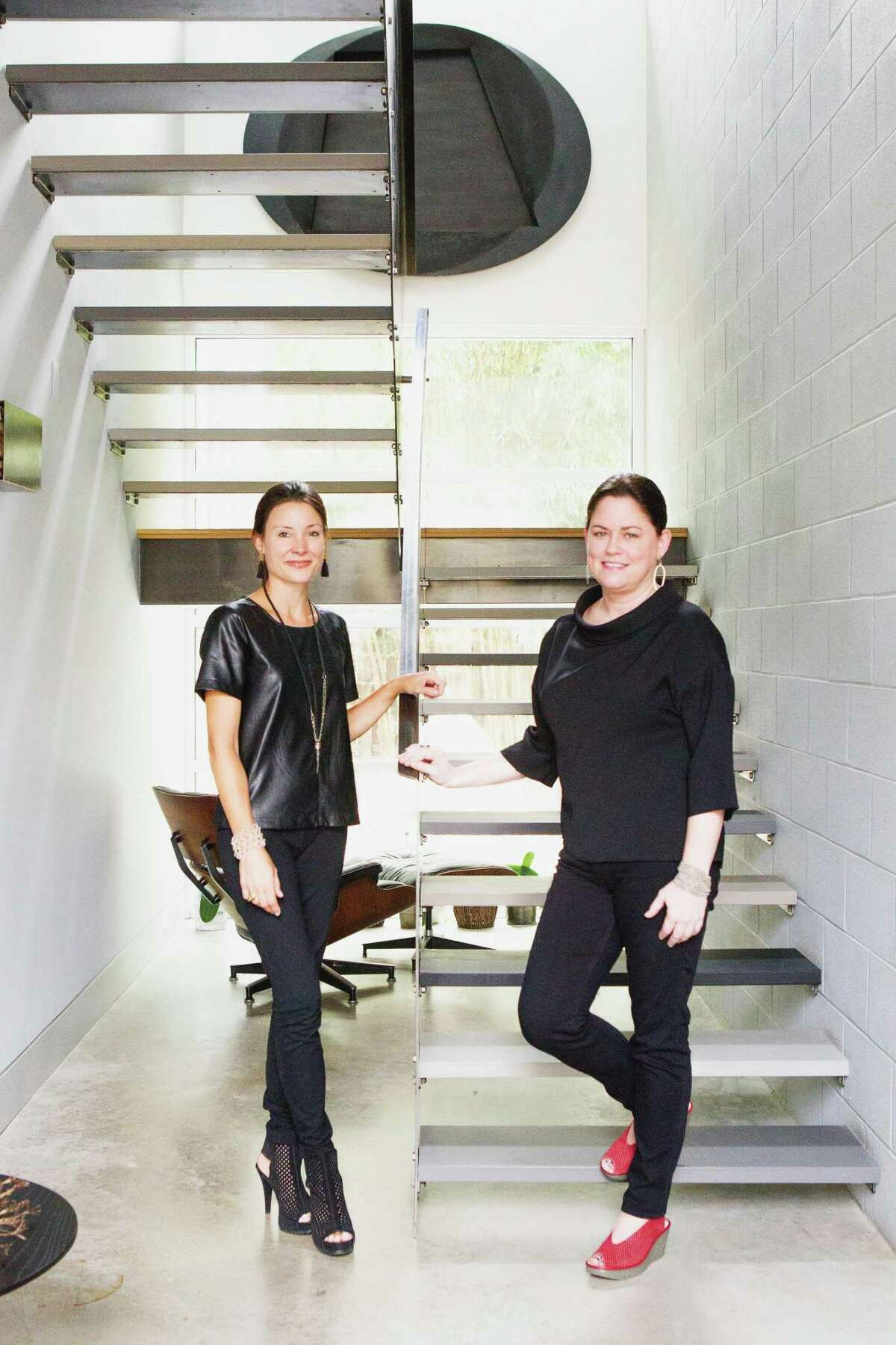 Courtney Blair, left, and Lindsay Robinson and of Tokerud+Co Interior Design.