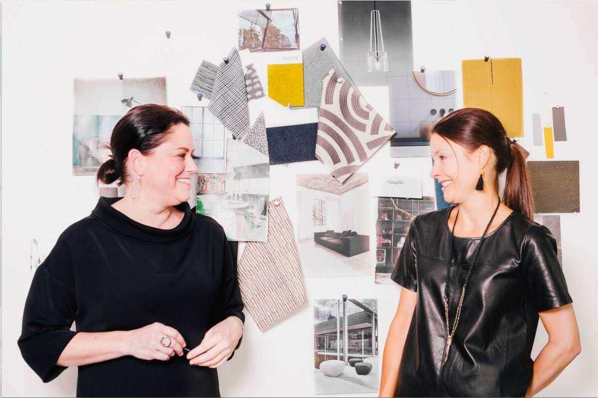 Lindsay C. Robinson, left, and Courtney Blair of Tokerud+Co Interior Design.