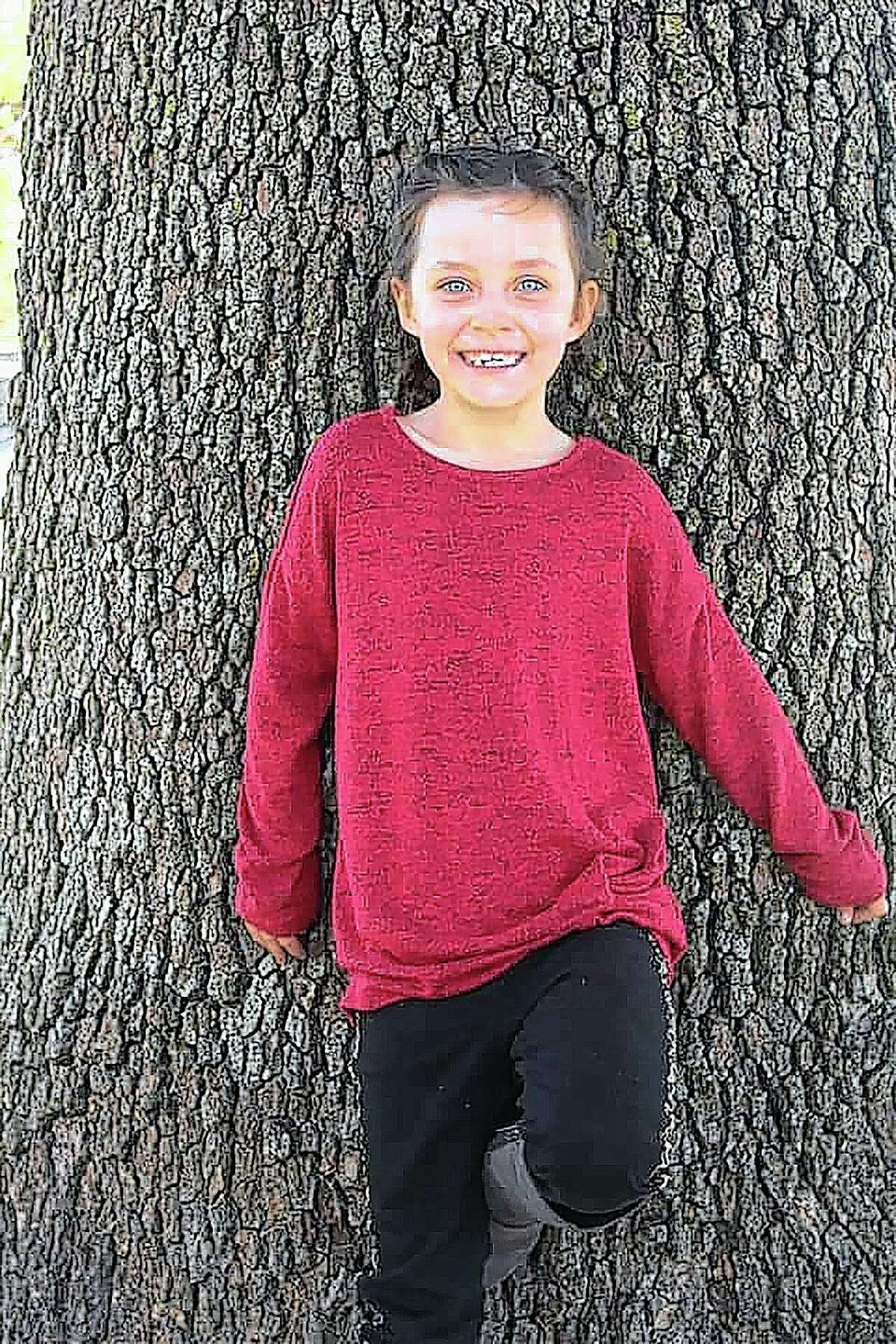 "Maggie Rose ""Max"" DeWitt, 8, of Beardstown died Aug. 9 of complications of asthma."