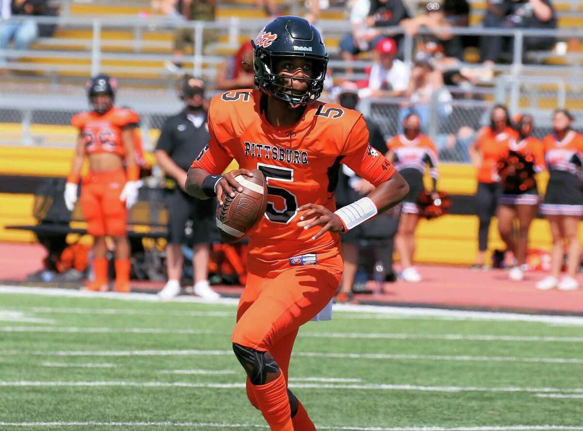 Jaden Rashada, a four-star recruit, is the quarterback for Pittsburg, the No. 3 team in The Chronicle's preseason top 25.