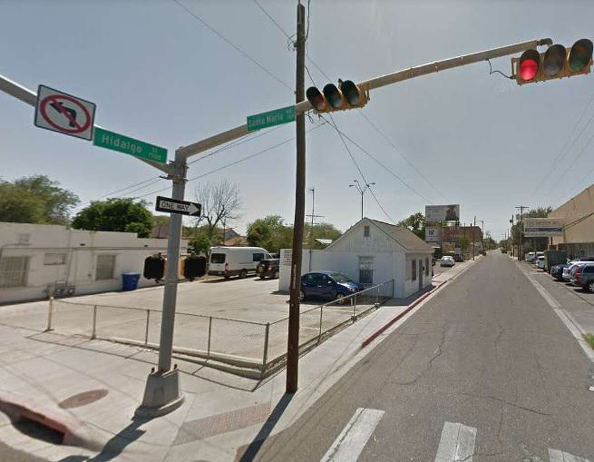 A pedestrian was left in serious condition after a vehicle struck him near downtown Laredo Sunday night in the 500 block of Santa Maria Avenue.