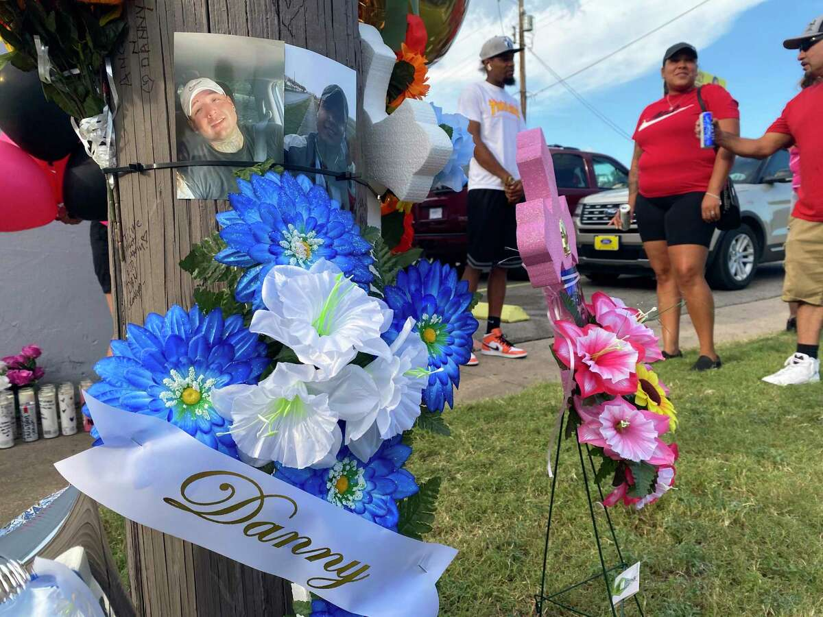 About 50 mourners attended a vigil Monday to remember Dan Martinez Jr., one of three shot outside of an East Side bar early Sunday.