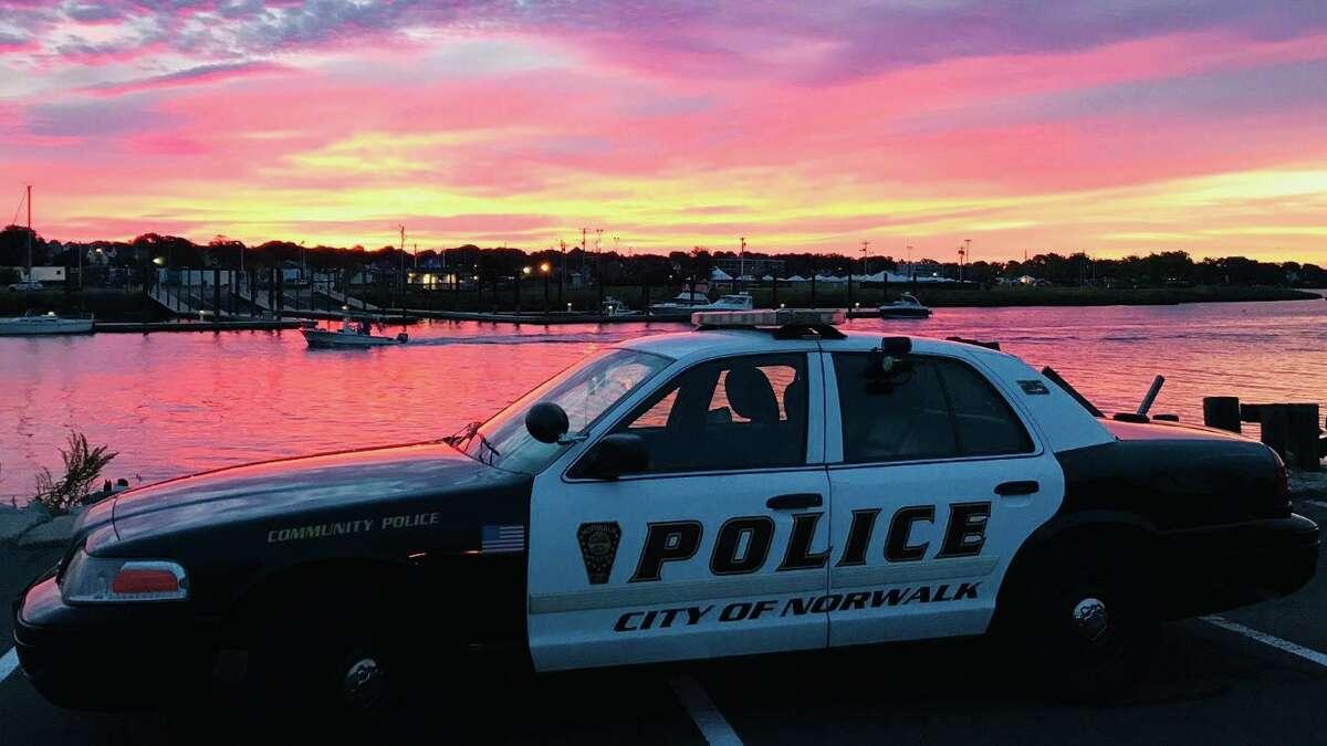 Norwalk police cruiser