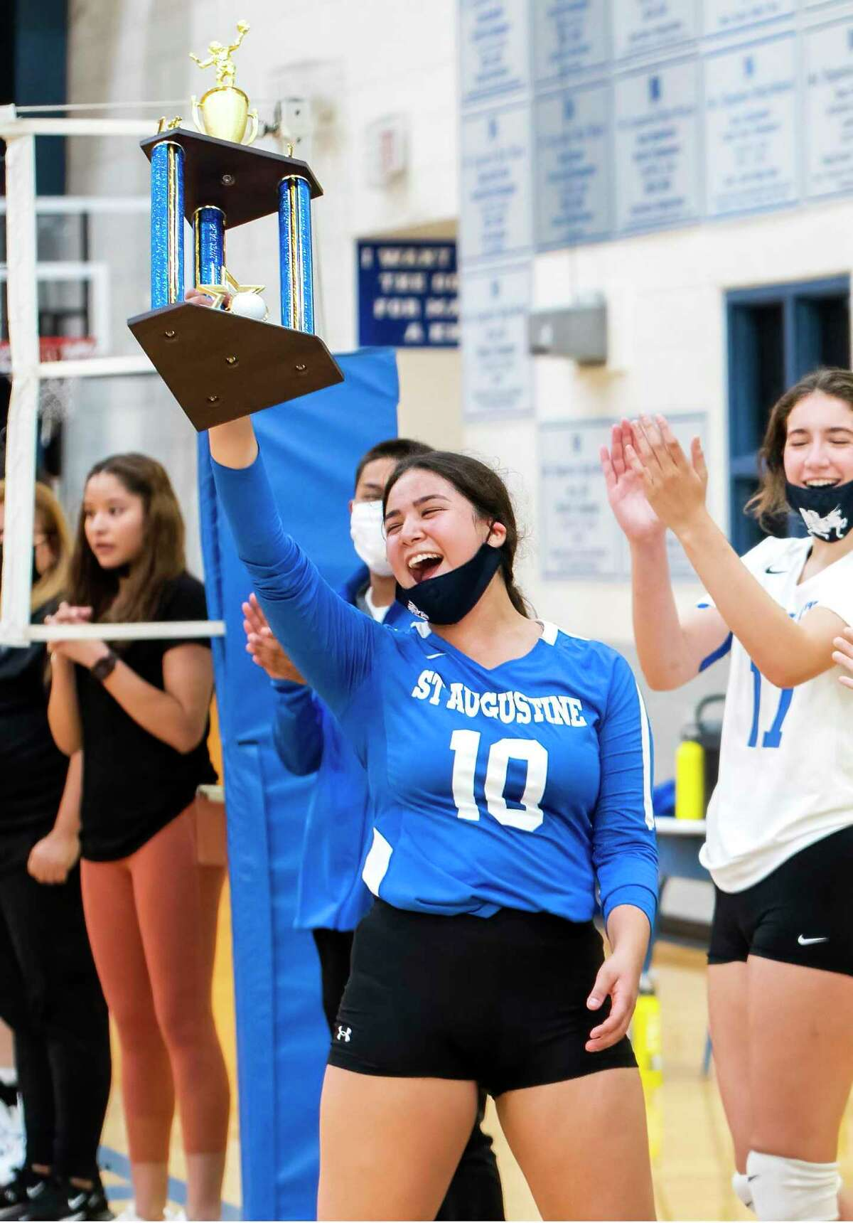 Karla Hurtado and St. Augustine will attempt to improve to 8-0 Tuesday as they travel to face Martin.
