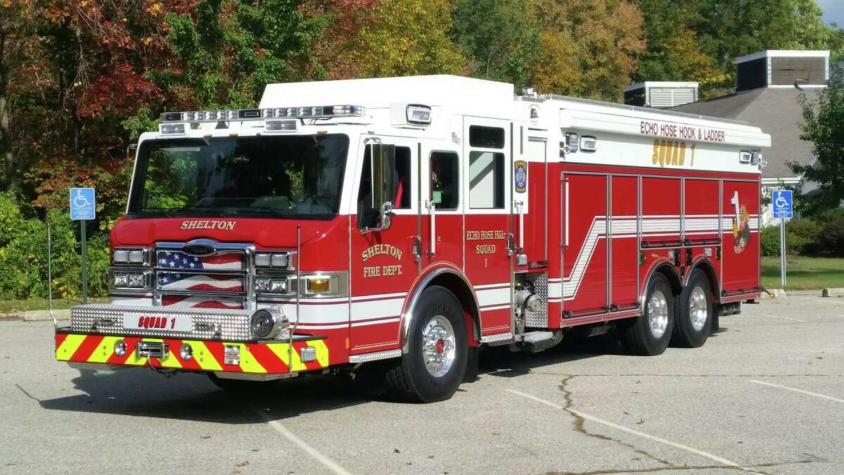 Firefighters responded to an accident on Route 8 in Shelton, Conn., around 1 a.m. Tuesday, Aug. 17, 2021, officials said.