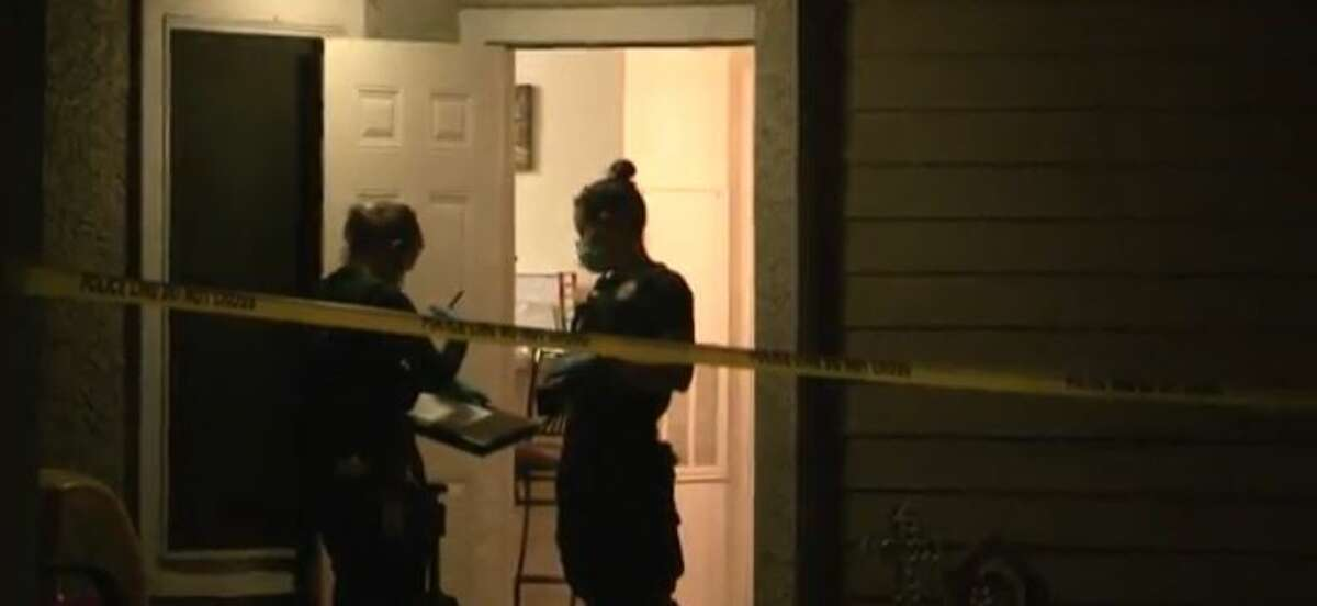 Police investigating a fatal stabbing on Monday night in north Houston.