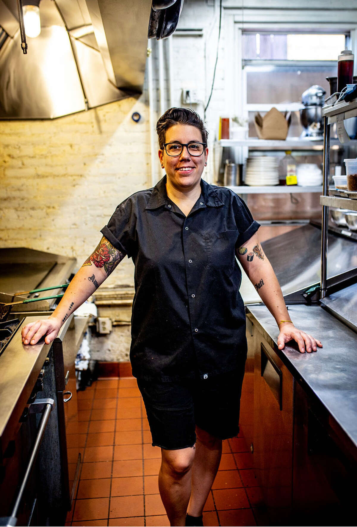 Emily Mingrone, chef-owner of Tavern on State in New Haven