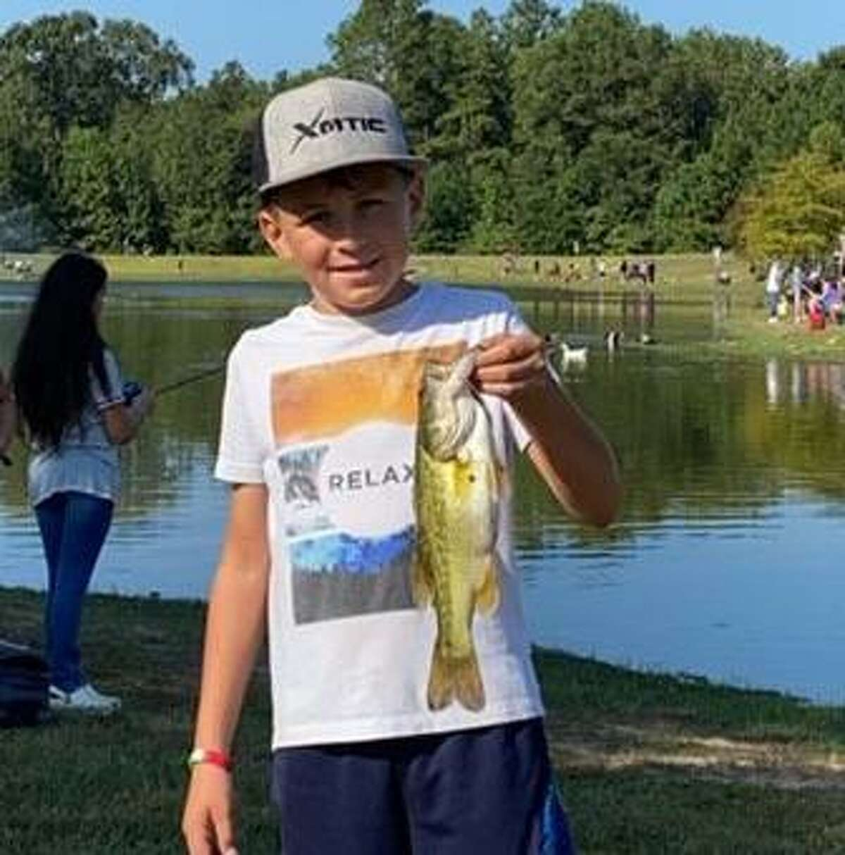 KidFish is a free event for children age 16 and younger. It's set for Sept. 11 at Carl Barton Jr. Park in Conroe.