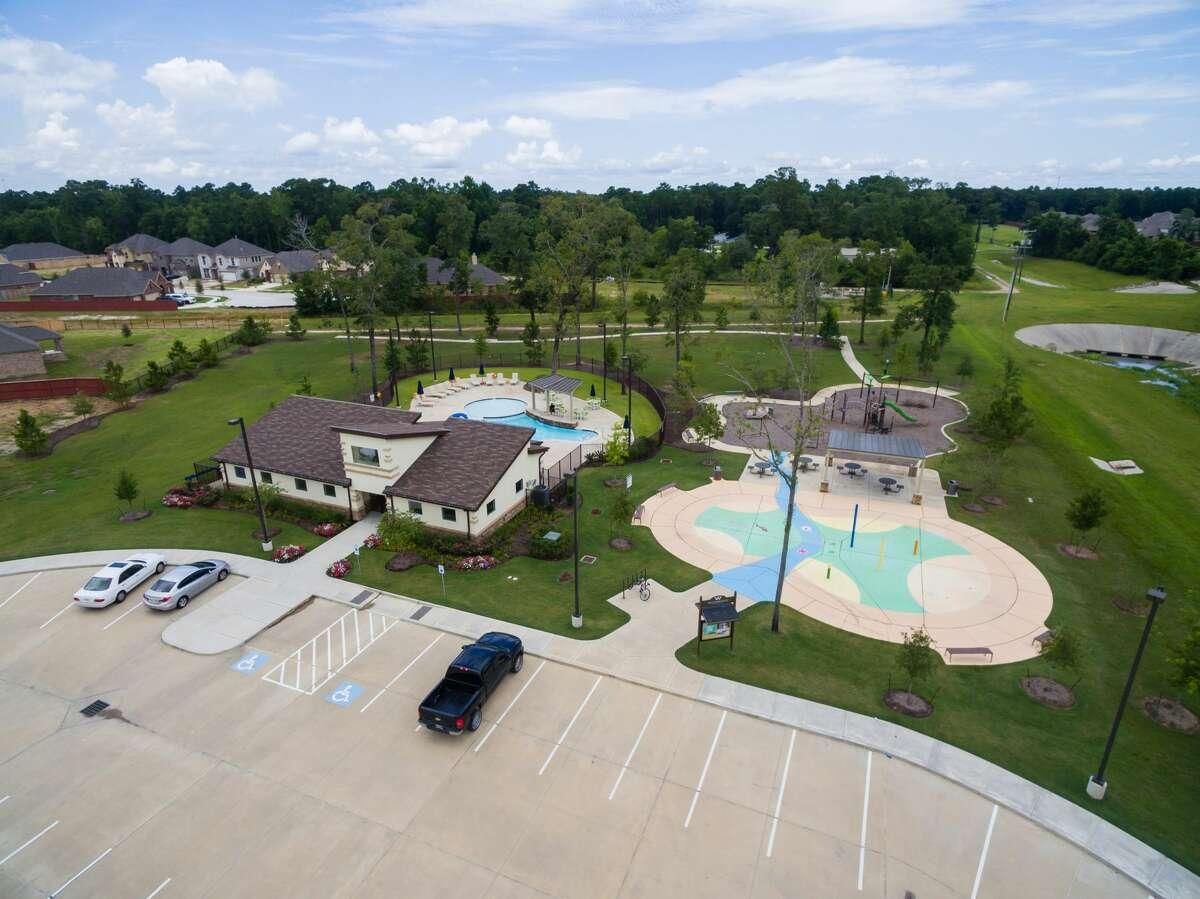 Rec center at Woodridge Forest in Porter, TX | Century Communities
