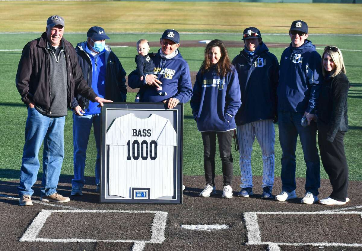 Wayland Baptist's Brad Bass celebrated his 1,000th career head coaching victory in February.