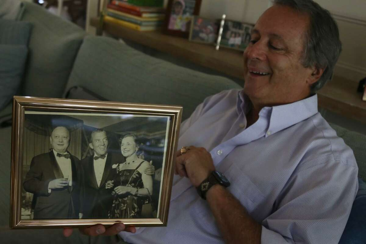 Preston Bealle of Darien shares a picture of his parents, Jim and Zona Bealle, with their friend Ed Sullivan.