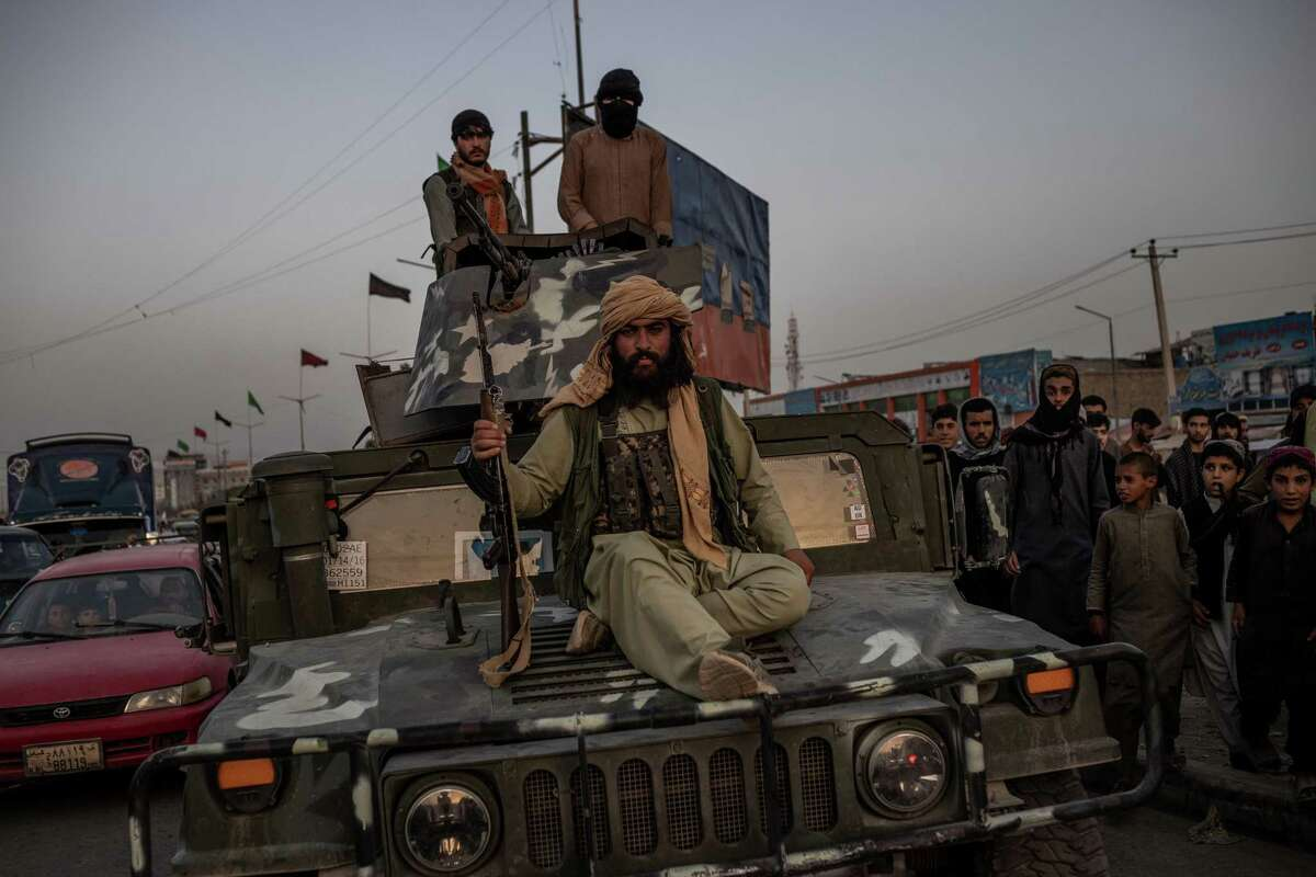 Taliban fighters take Kabul on Sunday. The past few years, U.S. policy has been dictated by a faulty premise: It is necessary to provide more resources (money and lives) to protect what we already have invested and the losses already incurred.