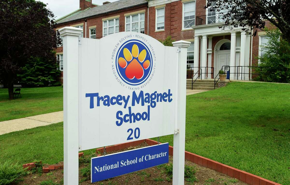 Tracey Magnet School Tuesday, August 17, 2021, in Norwalk, Conn.