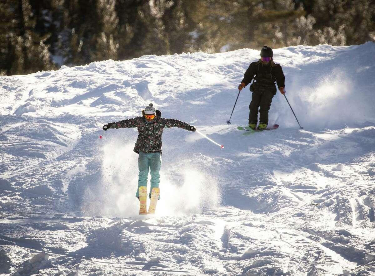 Skiers enjoy opening day at Heavenly Mountain Resort in South Lake Tahoe on Nov. 20.