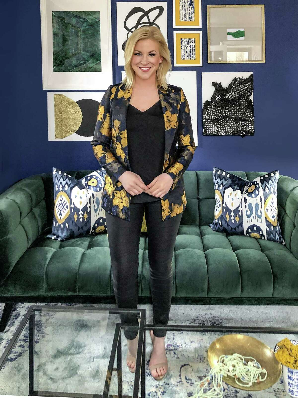 """Taylor Spellman is the star of HGTV show """"One Week to Sell."""" Her inspiration and insighful ideas are great for people looking to be more conscious about their interior décor choices."""