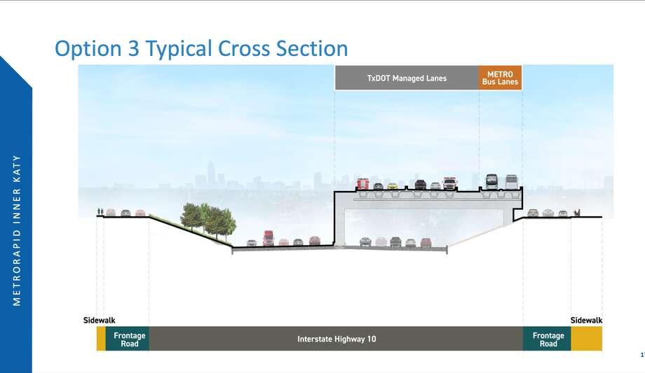 Here's what option 3 looks like. Photo: Metropolitan Transit Authority