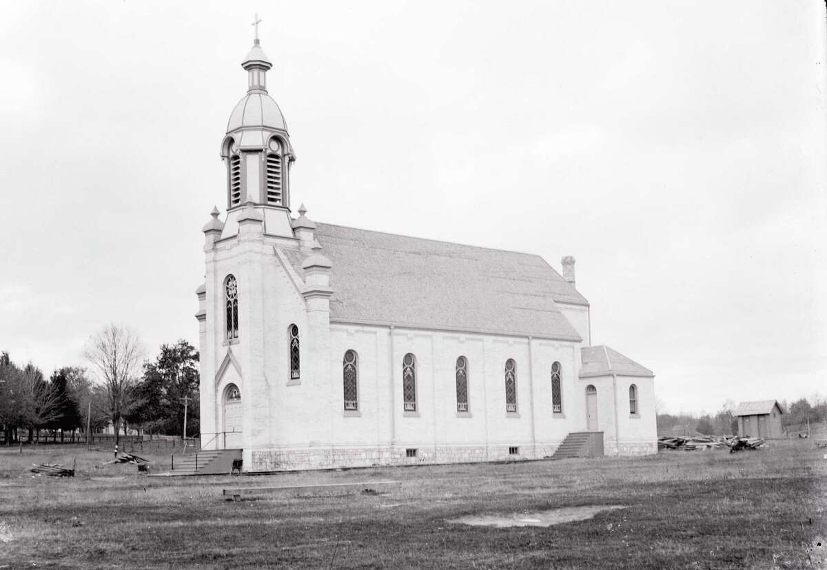 St. Ann Catholic church in Frankfort, about 1900. (Courtesy photo)