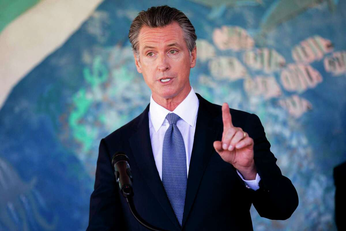 Gov. Gavin Newsom says his supporters shouldn't vote for a replacement candidate at all, but not everyone agrees.