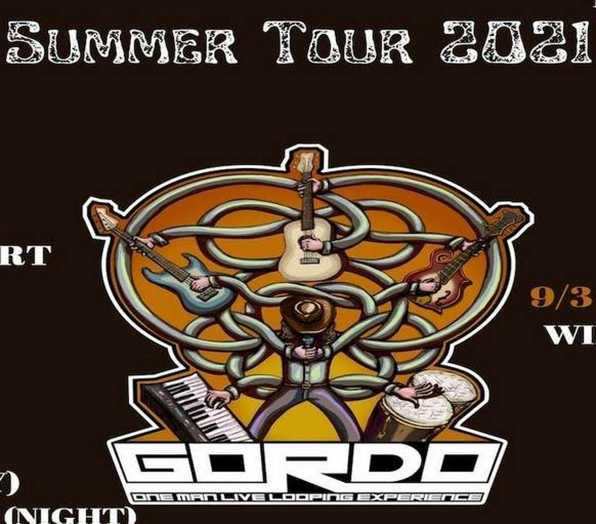 """Don't miss the """"one man band"""" that is Jason """"Gordo"""" Gordon on Thursday from 6 to 9 p.m. at Prairie Inn, 8471 Prairietown Road, Dorsey. Gordo performs a show using a technique called live looping. The stop is among the local musician's Summer Tour 2021."""
