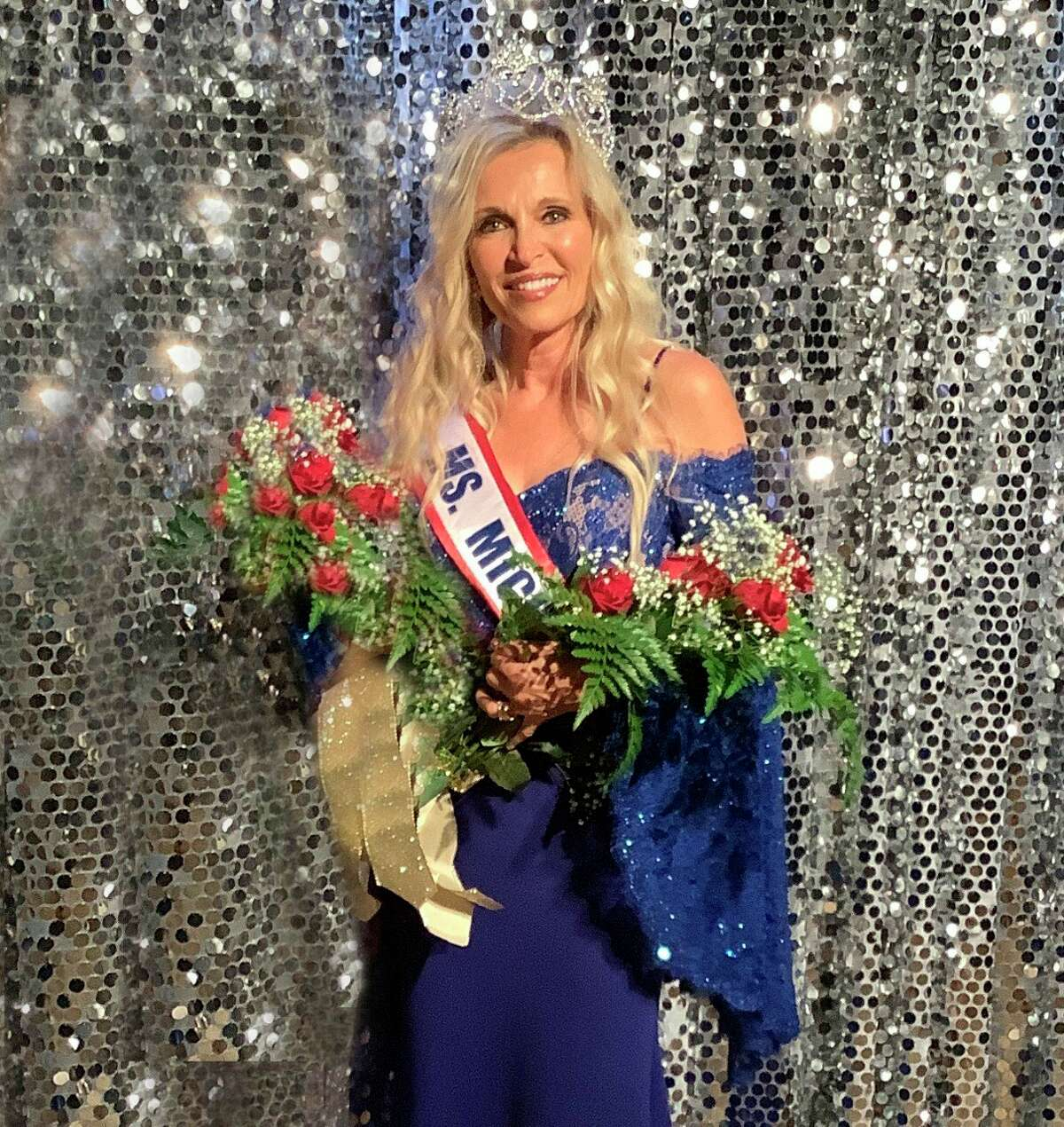 Beth Grothe, of Reed City, was crowned Ms. Senior Michigan 2021 in June. She is now competing in the Ms. Senior America contest to be decided in August.