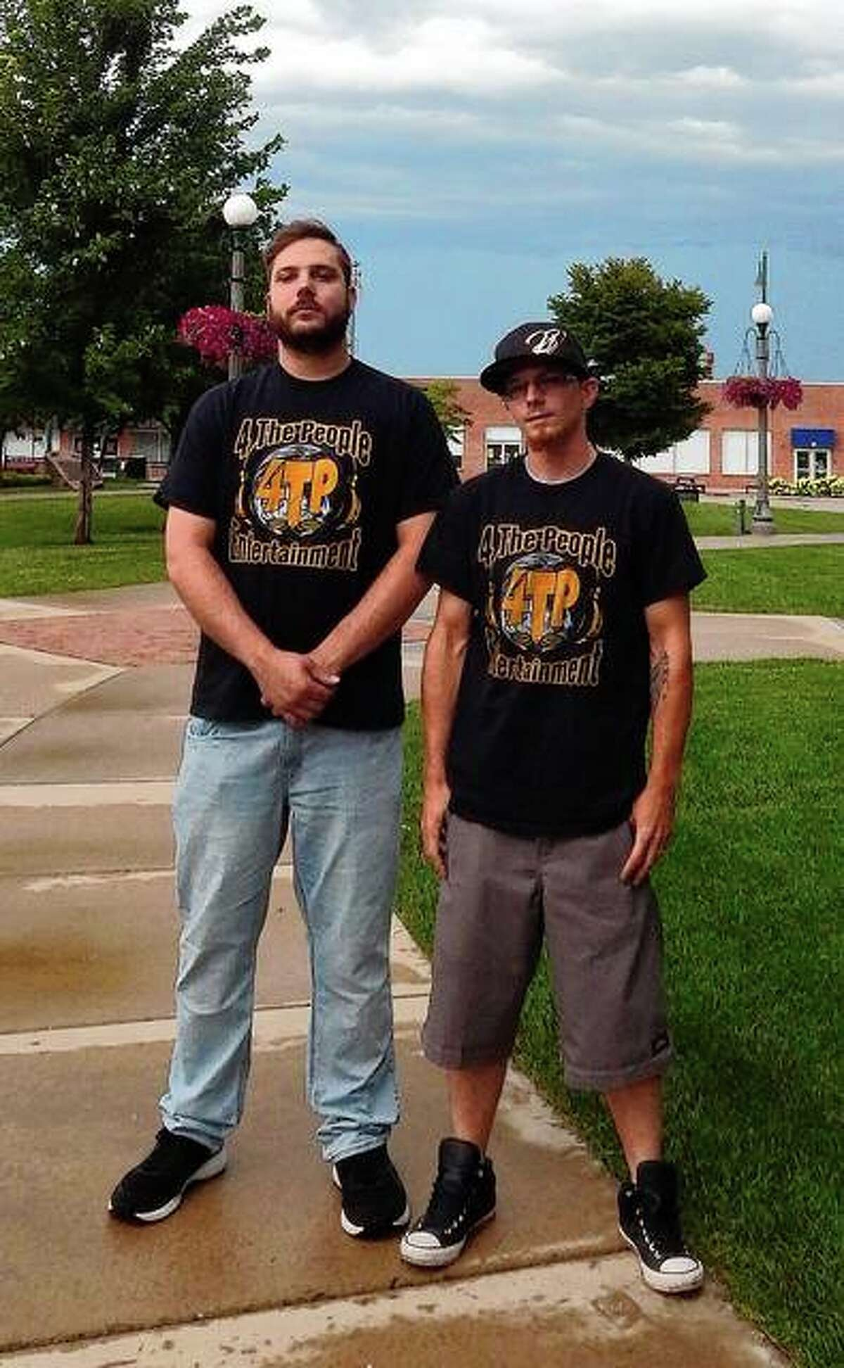 """Robby """"Robby Freak"""" DeLoach (left) and Joe """"Wicked Sweet"""" Wigger, both of Jacksonville, make up the rap/hip-hop duo FreakNSweet. They will be part of the lineup Thursday when Oscar-winning rapper Crunchy Black visits Jacksonville for a show at Area 51."""
