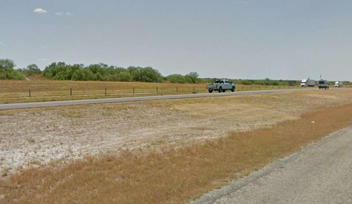 Pictured is the 18th mile of Interstate 35 in Laredo.