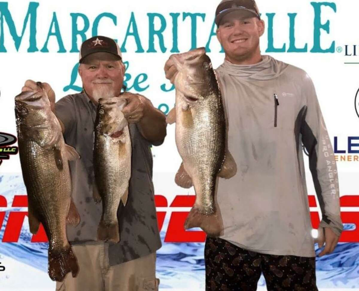 Kevin Fields and Landon Beckham came in first place in the CONROEBASS Tuesday Tournament with a weight of 15.61 pounds.