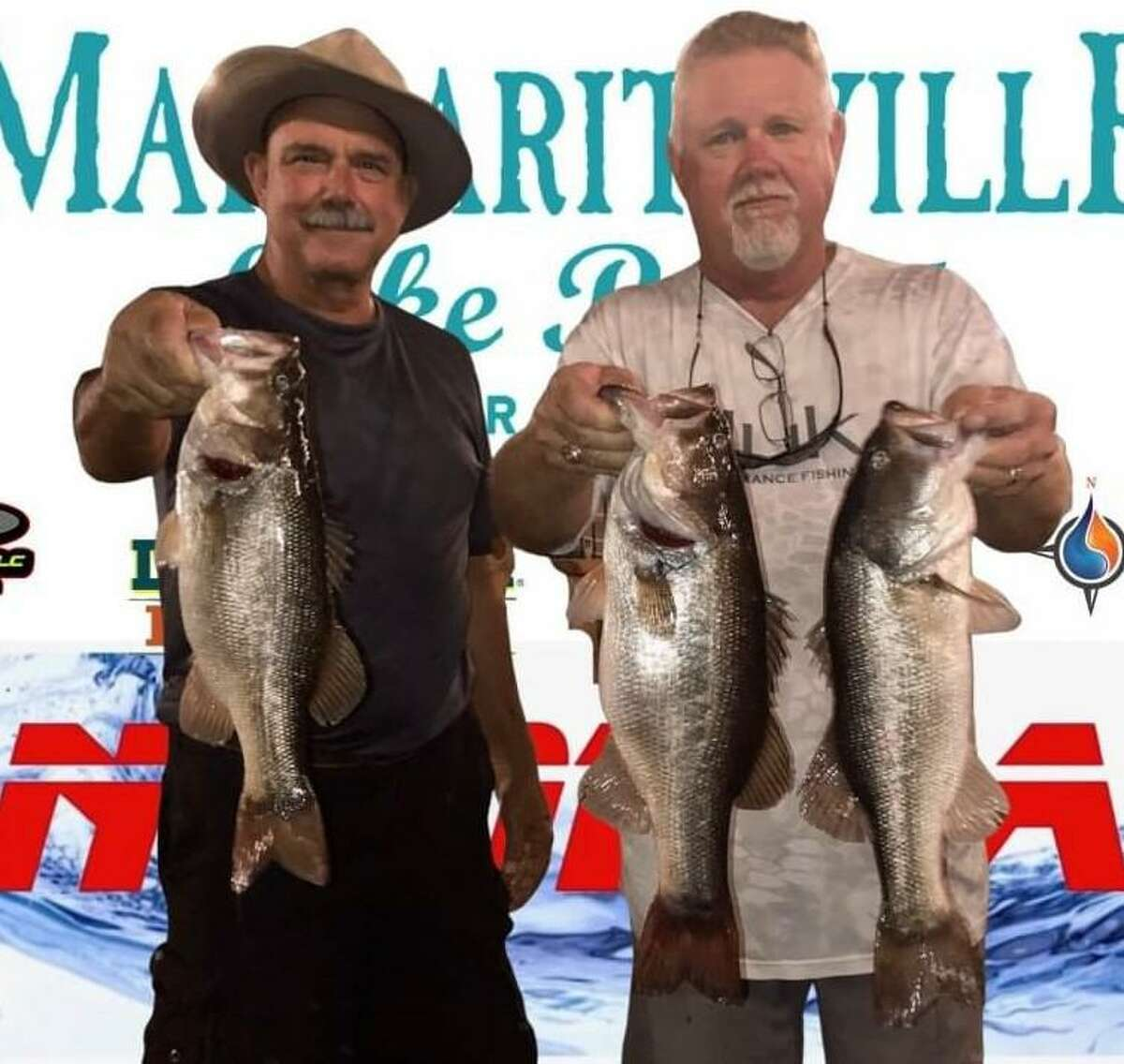 Randy Gunter and Mickey Mueller came in second place in the CONROEBASS Tuesday Tournament with a weight of 11.32 pounds.