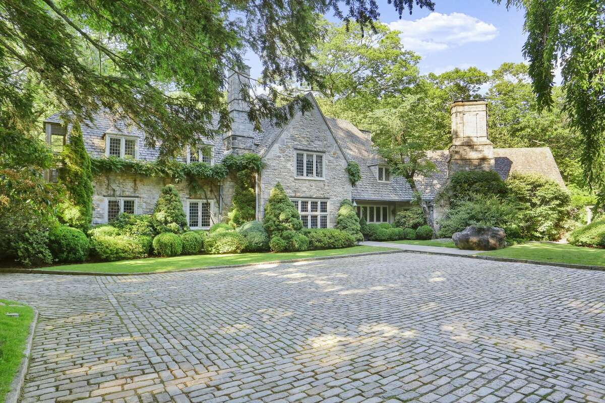 """The home on 59 Sawmill Lane in Greenwich, Conn. was featured on the Instagram and TikTok account Zillow Gone Wild's """"Mansion Mondays"""" series."""