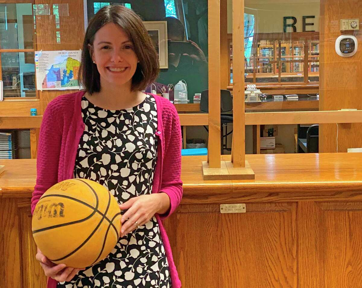 Bad Axe District Library Director Briynne McCrea wants her patrons to know about the wide variety of services and materials available. (Mark Birdsall/Huron Daily Tribune)
