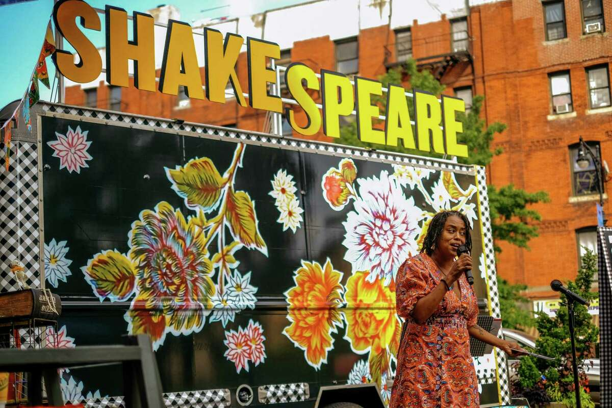 Karen Ann Daniels, director of the Public Theater's Mobile Unit, will take over as Folger Theatre's artistic director on Oct. 1.