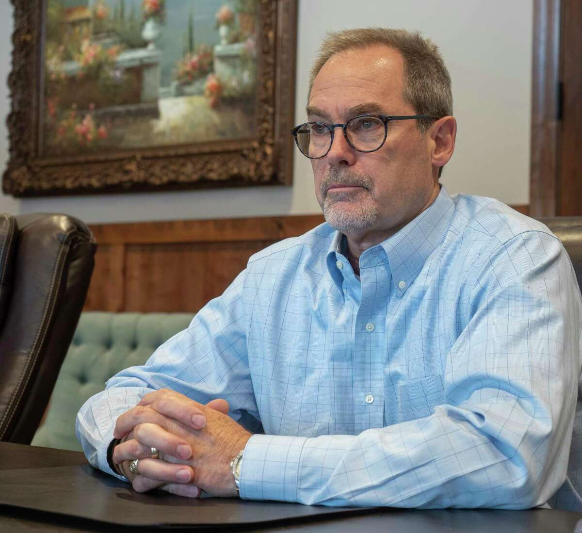 Kevin Sparks, with Discovery Operating, is a candidate for Texas State Senate. 08/18/2021 Tim Fischer/Reporter-Telegram