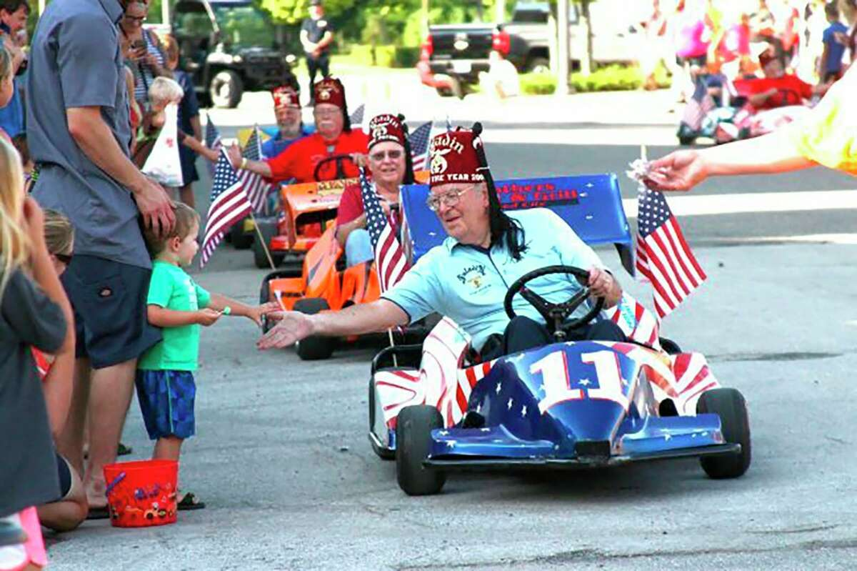 The Great American Crossroads Celebration's Grand Parade begins at 6:30 p.m. Friday in downtown Reed City. (Pioneer file photo)