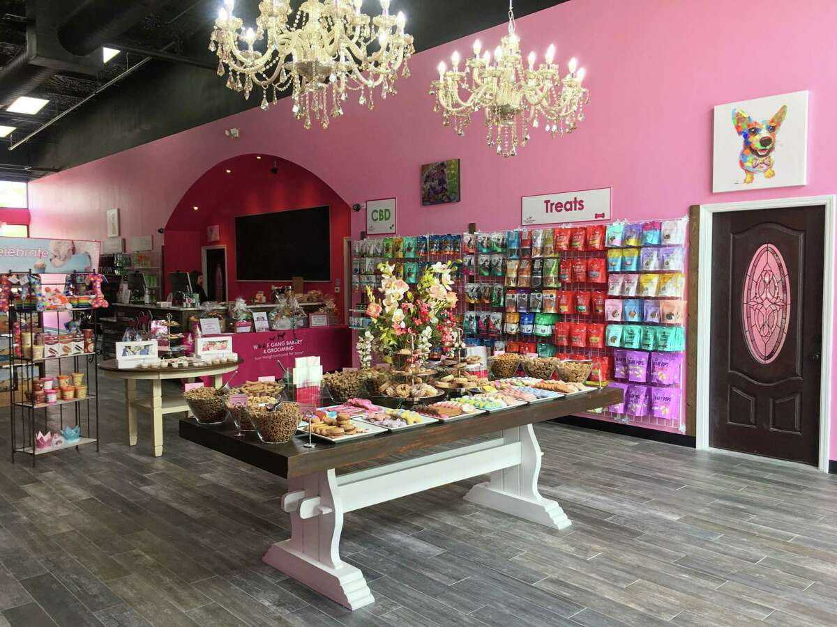 Woof Gang Bakery & Grooming opened a store at 950 Pine Market Ave. in the Woodforest community.