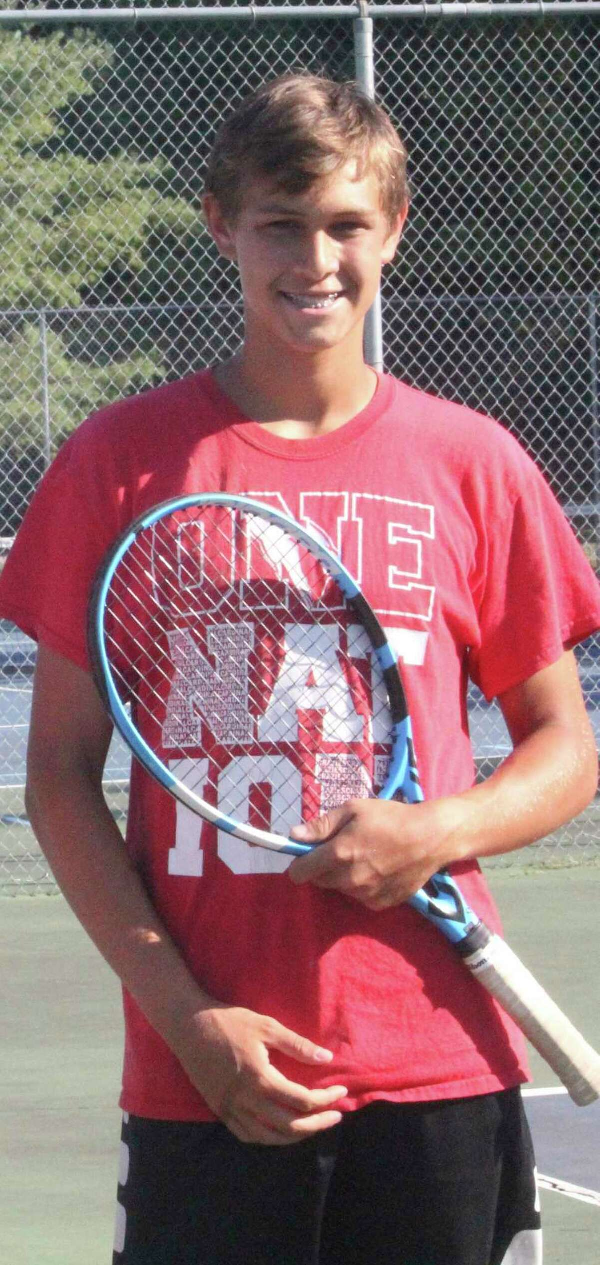 Big Rapids' Nate Sanders has made the transition to singles this season. (Pioneer file photo)