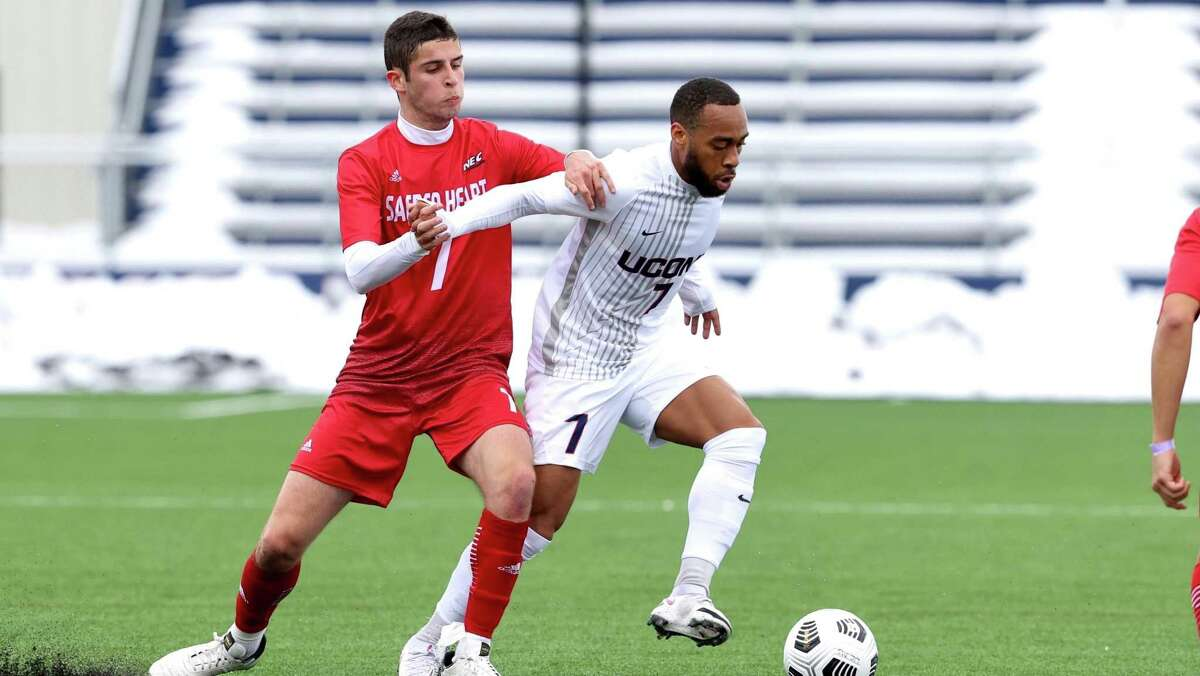 Ahdan Tait, a senior from Bridgeport, has one goal and one assist in 23 career games for UConn. He transferred from Virginia before the 2019 season.
