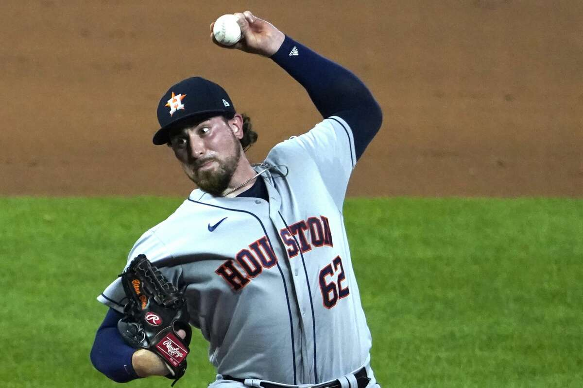 Blake Taylor, a surprise choice to take the mound, inherited a 2-1 lead over the Royals to start the seventh inning Wednesday. It was gone two batters later as the Astros were sent to their fourth straight loss.