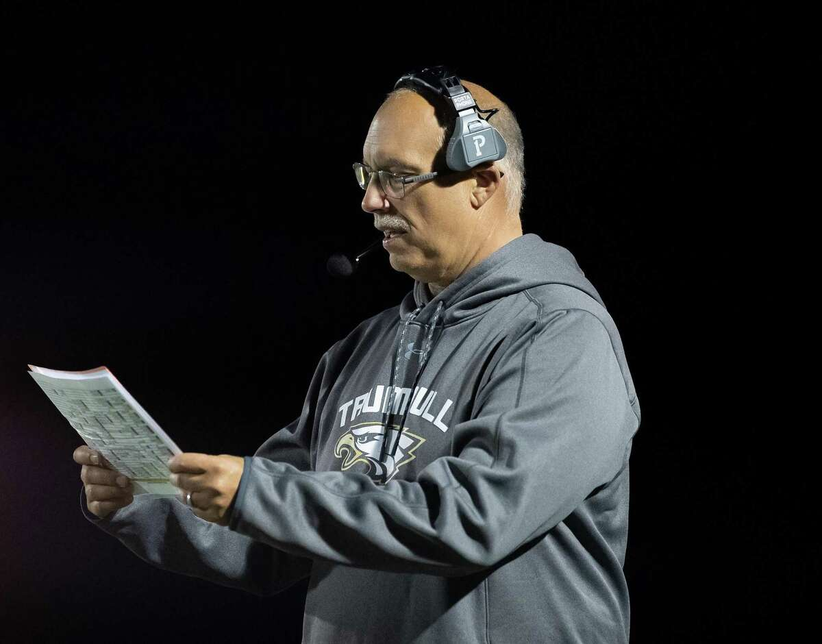 Trumbull football coach Marce Petroccio's Eagles will condition this week. Contact drills begin on Saturday.