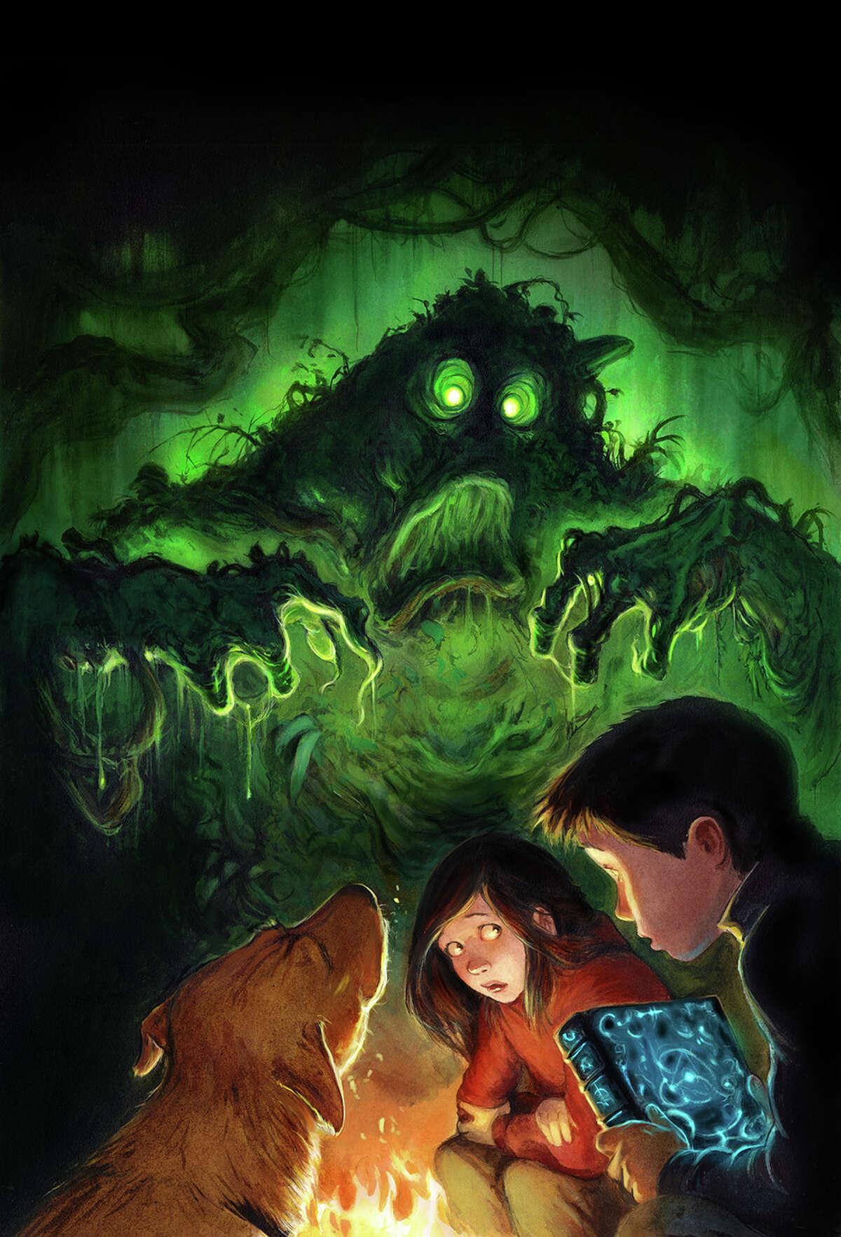 """Swamp Scarefest"" by Scott Brundage."