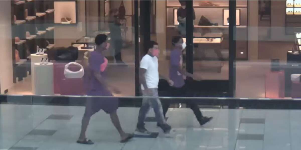 Officials are seeking three people Houston police say are wanted in connection to a shooting that killed a 30-year-old man in May 2020.