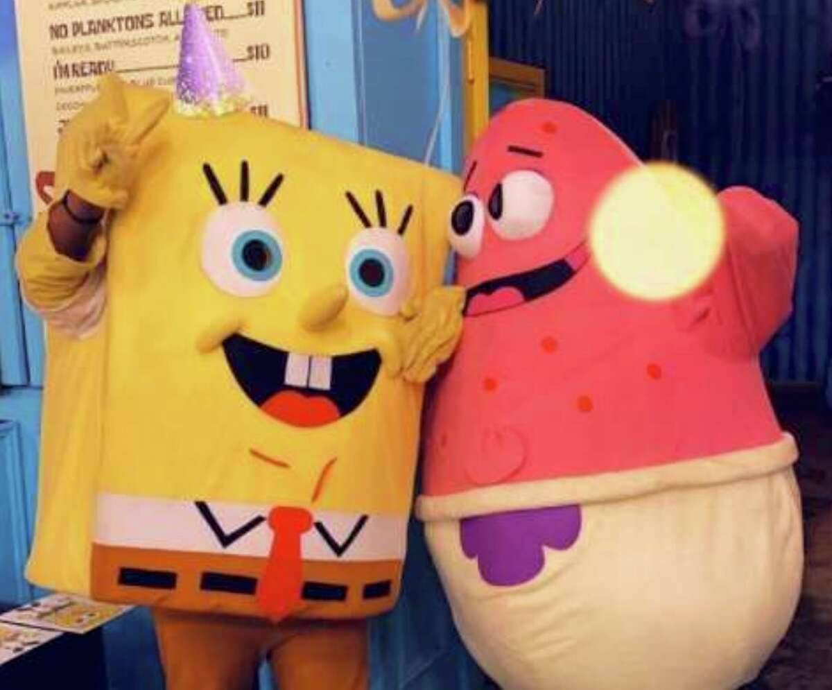 The Big Sponge and Pinkypose for a shot.