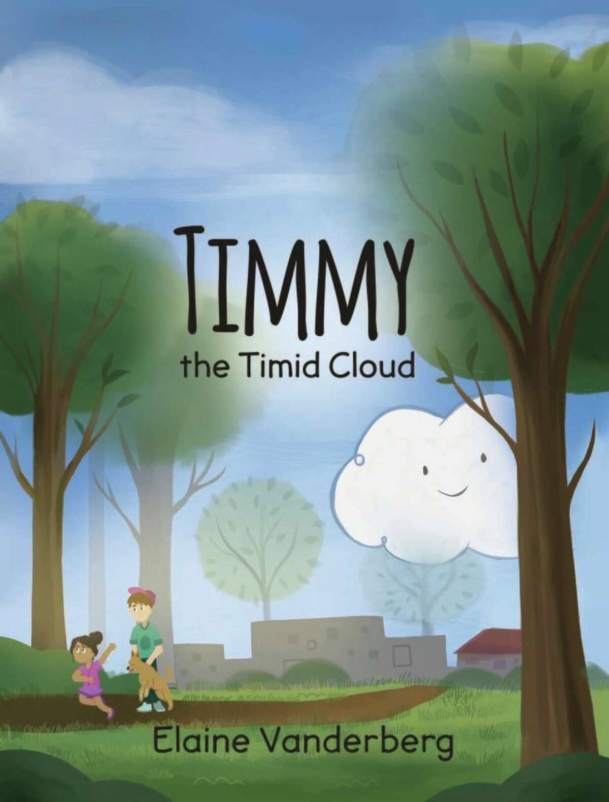 """Elaine Vanderberg's """"Timmy the Timid Cloud"""" is the first book to see print in a series she's written about characters overcoming challenges children may face. (Courtesy Photo)"""