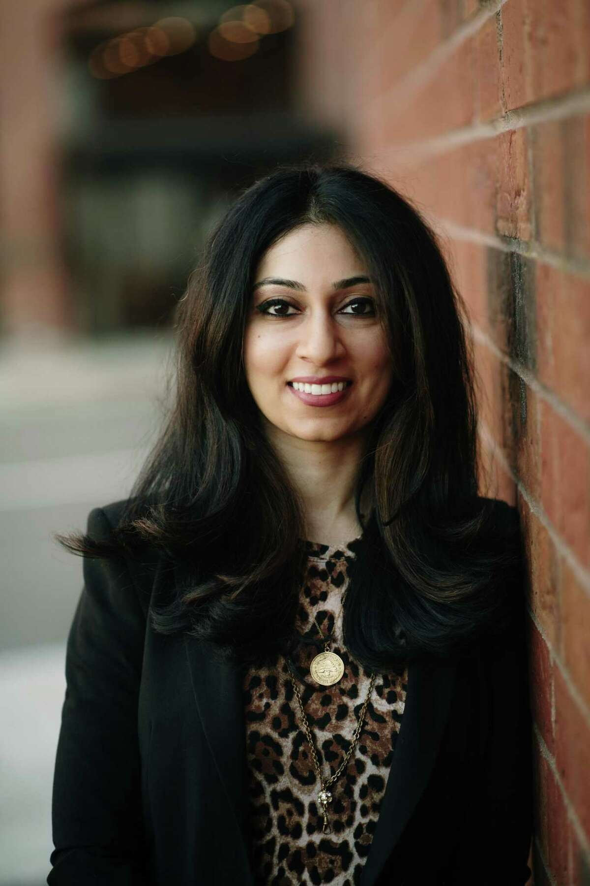 Zeenie Malik, with Integrated Refugee & Immigrant Services of New Haven