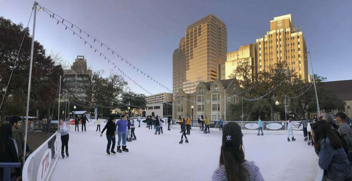 The Rotary Club of San Antonio said it expects to open its popular ice rink on Nov. 19 at Travis Park in downtown.