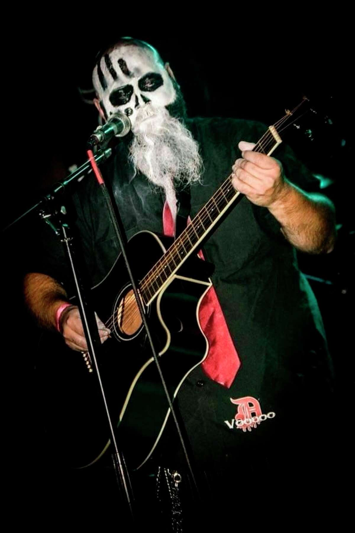 Reuben Kubacki has performed on stage with hard rock, punk rock, and heavy metal bands. He has been on the stage with Rob Zombie, Limp Bizkit, Five Finger Death Punch, and Megadeth.Besides playing in two bands, he has his own record company, Voodoo Electric Music.(Courtesy Photo)
